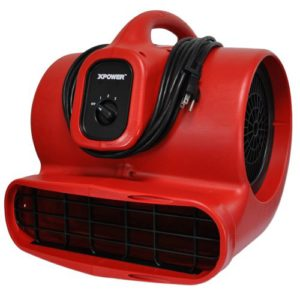 Air Mover Rental XPower x-600 Edmonton | Gentle Steam