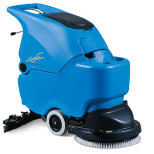 Walk Behind Auto Scrubber Edmonton | Gentle Steam